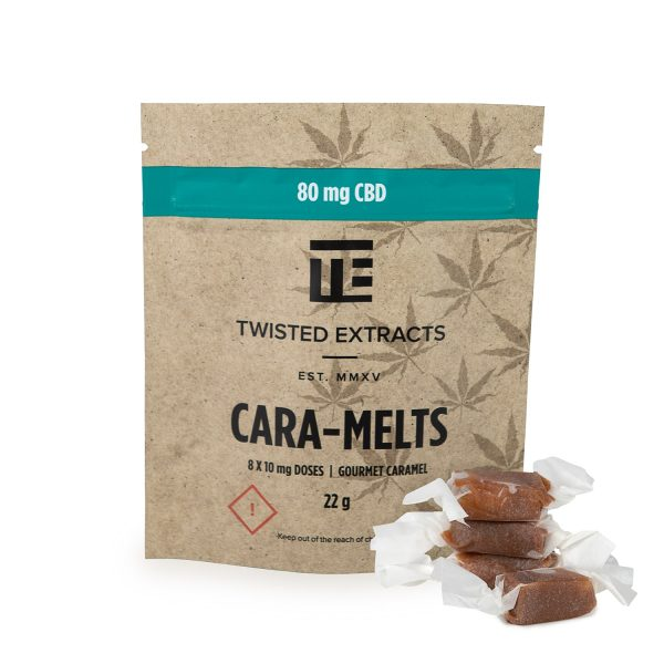 Twisted Extracts CBD Cara-Melts
