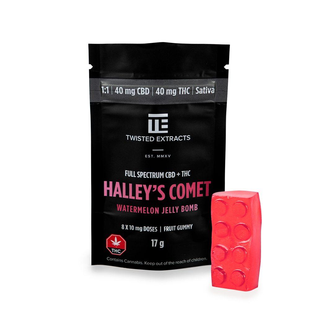 Halley's Comet Watermelon Jelly Bomb