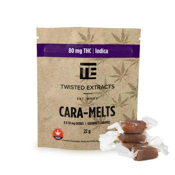 Twisted Extracts Indica Caramelts
