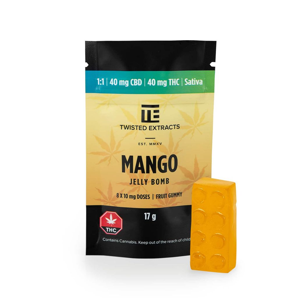 Twisted Extracts Mango 1:1 Jelly Bomb