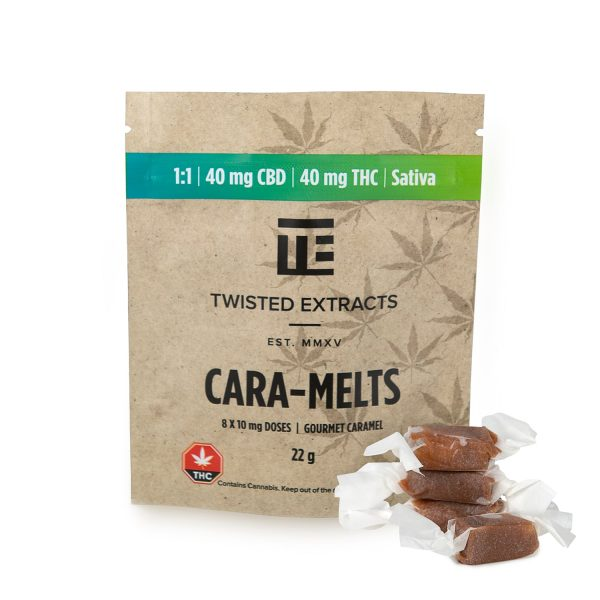 Twisted Extracts 1:1 Sativa Cara-Melt
