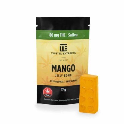 Twisted Extracts Mango Sativa Jelly Bomb