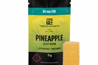 Twisted Extracts Pineapple CBD Jelly Bomb