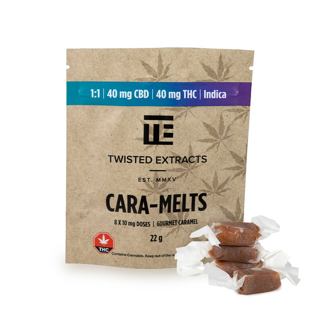 Twisted Extracts 1:1 Indica Cara-Melts