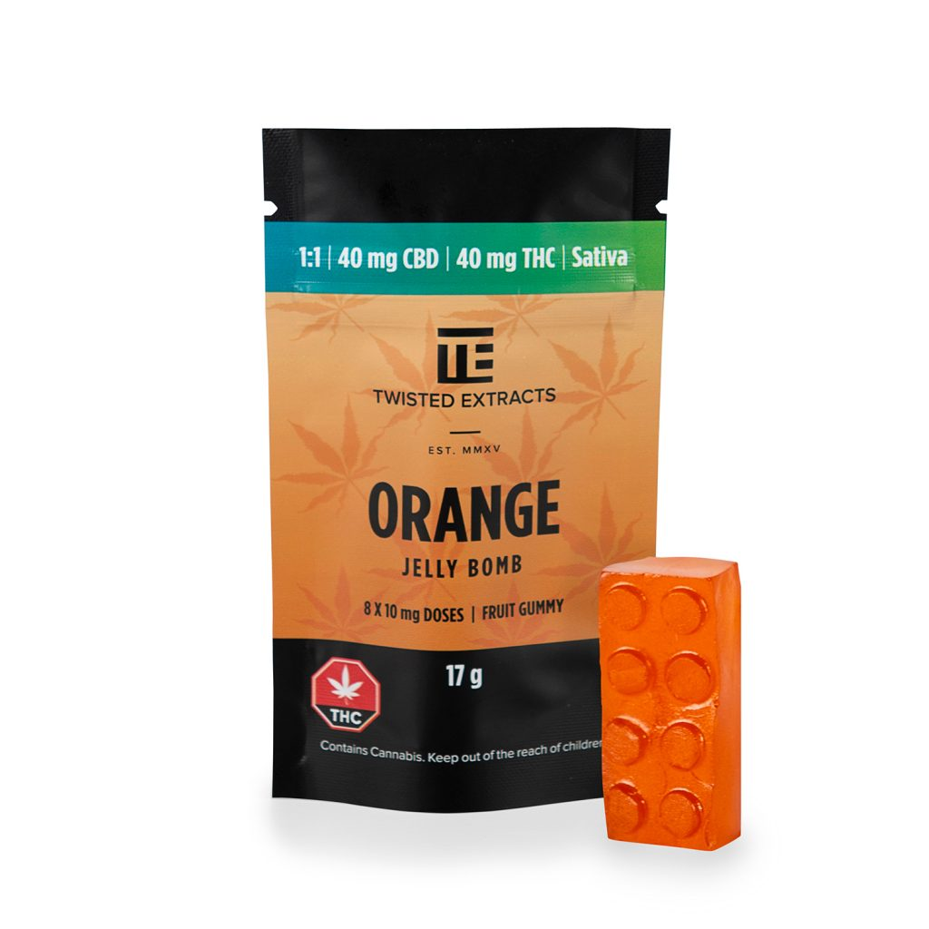 Twisted Extract Orange Sativa 1:1