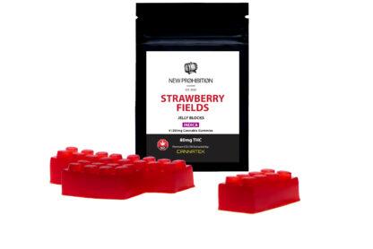 New Prohibition Indica Strawberry Jelly Blocks