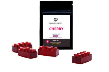 New Prohibition Cherry Indica Jelly Blocks