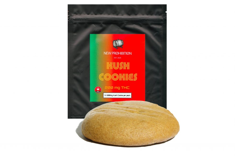 New Prohibition Kush Cookies