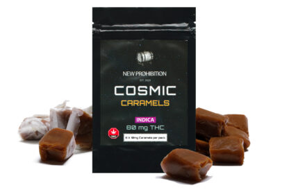 New Prohibition Indica Cosmic Caramels
