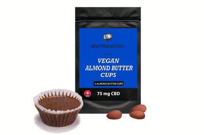 Vegan CBD Almond Butter Cups