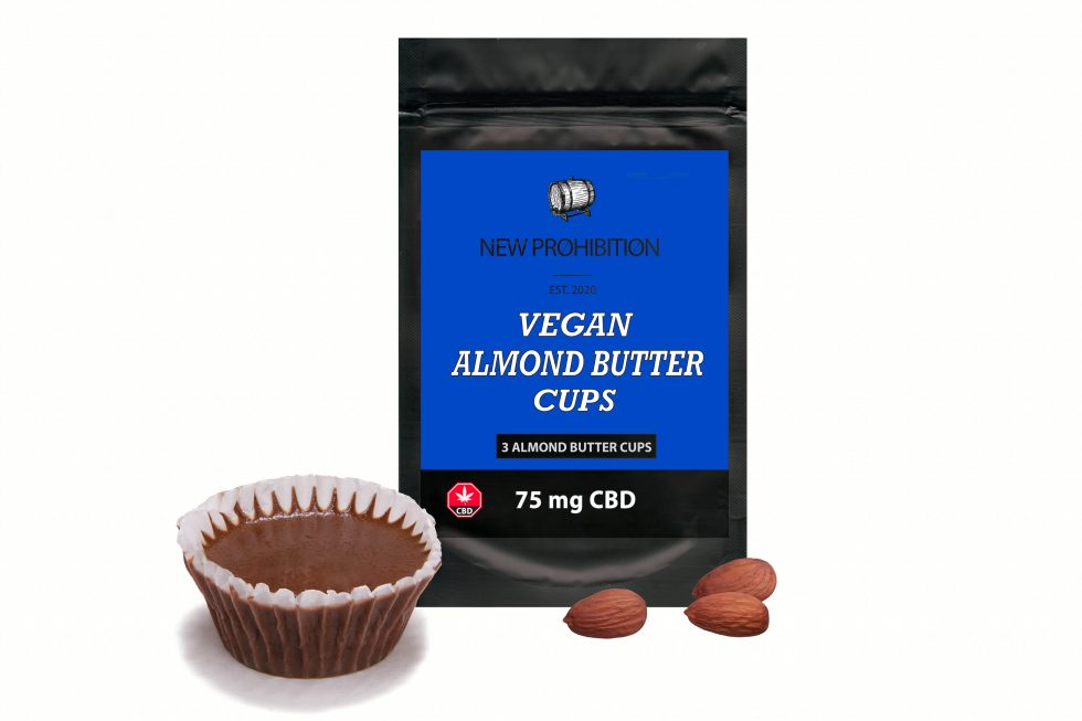 Vegan CBD Almond Butter Cups