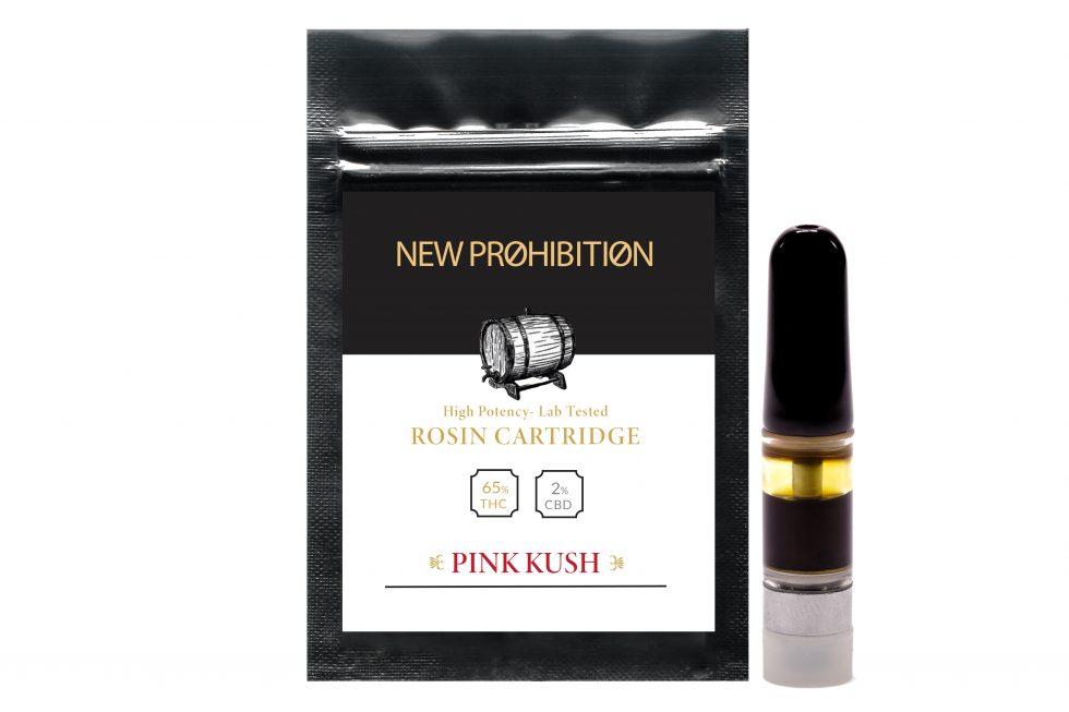 Pink Kush Rosin Cart