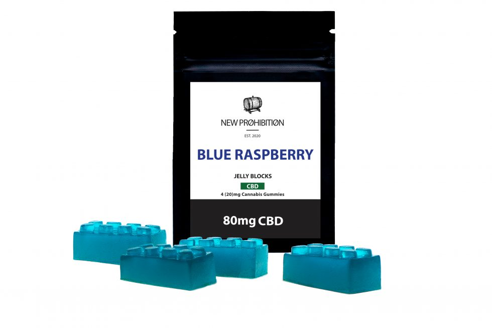 New Prohibition Blue Raspberry CBD