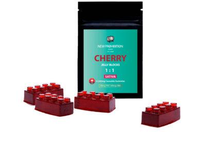 New Prohibition Cherry 1:1 Sativa Gummies