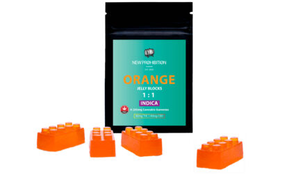 New Prohibition Orange 1:1 Indica Gummies