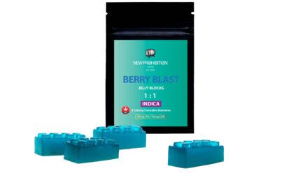1:1 Indica Gummies