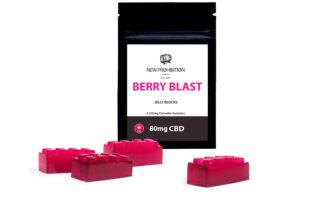 Berry Blast CBD Jelly Block