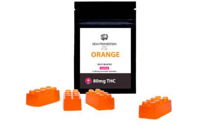 New Prohibition Orange THC Sativa Gummies